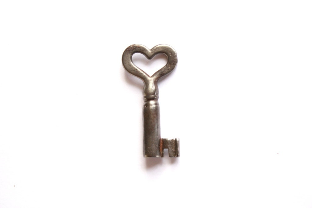 Vintage Heart Key to my Heart Old Heart Skeleton Key . heart