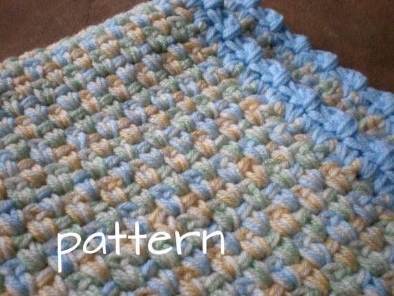 Easy Crochet Baby Blanket Pretty Pasterls Quick Amp Cozy Pdf