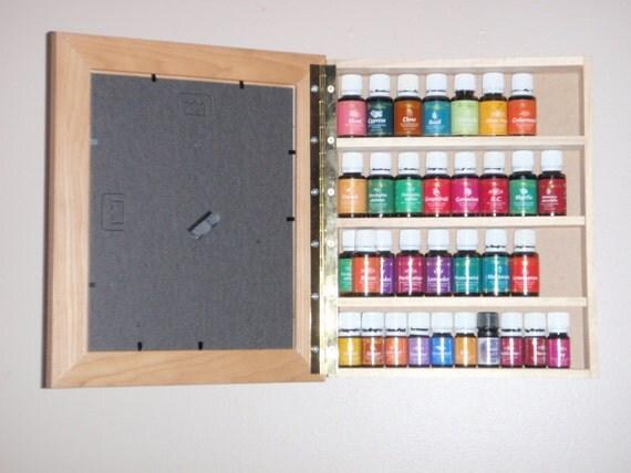huile essentielle bois tag re armoire rack par bystichbtch sur etsy. Black Bedroom Furniture Sets. Home Design Ideas