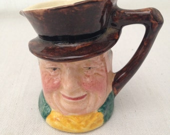 SALE! Vintage Sandland Character Ware England Collectible Toby Jug / Lancaster Sandland Handpainted Hanley England