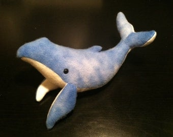 Humpback Whale Plushie