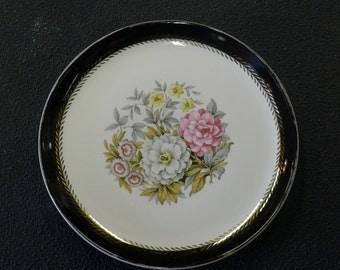 French Saxon China plate: Empire pattern