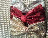 shinny sequins hair clip 5.75 inches choose color