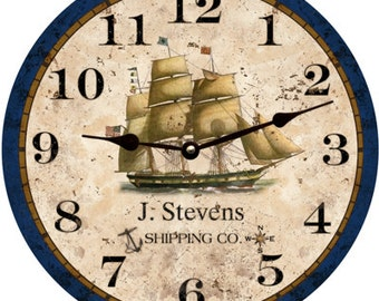 Nautical clock-Personalized Nautical Clock