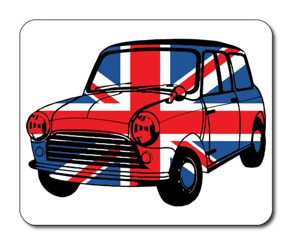 Best of British Classic Mini Union Jack Mouse Mat Mouse Pad