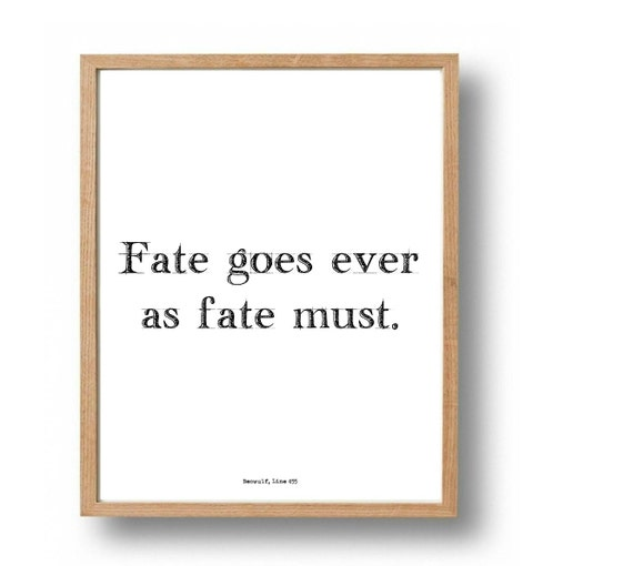 beowulf essays fate Open document below is a free excerpt of fate is not up for debate (beowulf essay) from anti essays, your source for free research papers, essays.