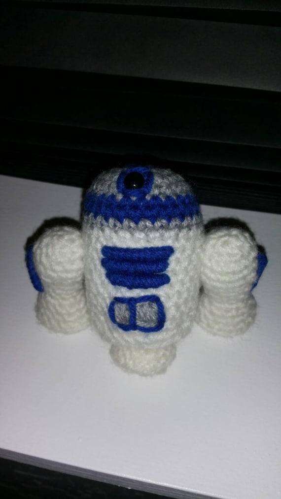 Amigurumi Sushi Pattern Free : Crochet Amigurumi Star Wars R2-D2