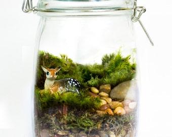 SALE Moss Terrarium // Deer // Hello Deerest