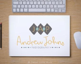 Photography Logo - premade logo  - masculine photography logo
