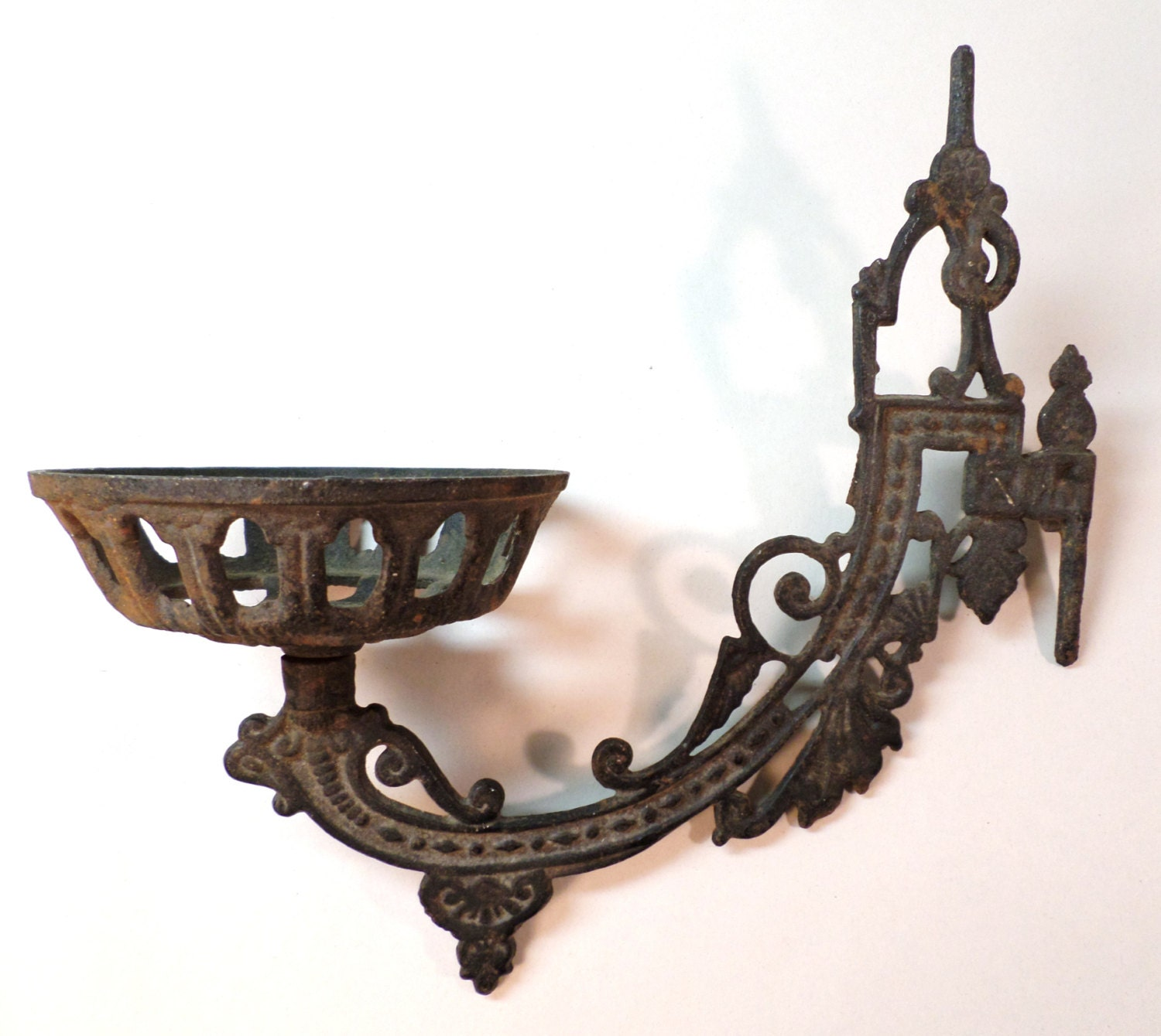 Cast Iron Oil Lamp Bracket
