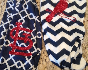 St. Louis Cardinals glitter infinity scarf