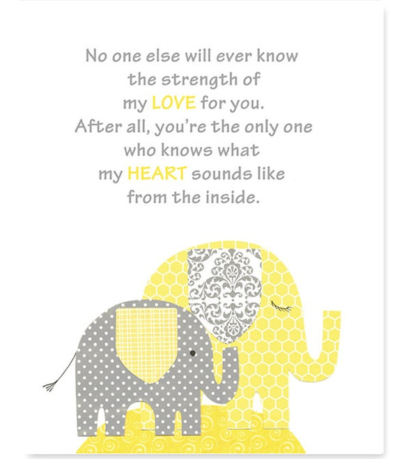 No One Else Will Ever Know Gender Neutral Nursery Art Print