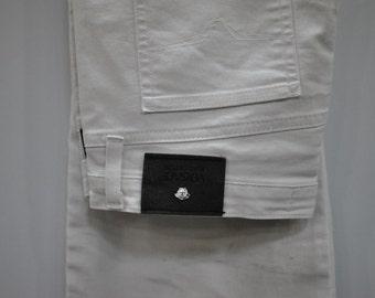 Vintage VERSACE JEANS COUTURE white pants .....