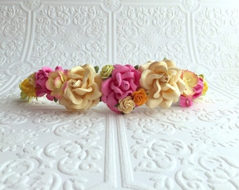 The Fairy Goddess Floral Crown