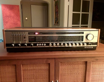 Vintage Grundig RTV 600 classic solid state stereo receiver (works)