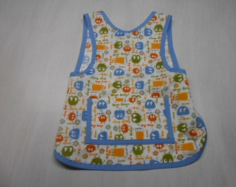 Slip on Apron/bib fits 2 to 4 yrs