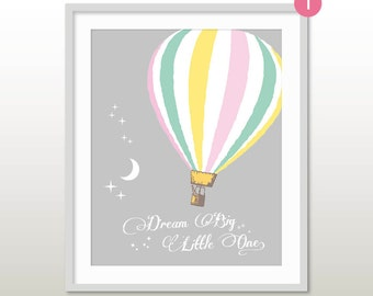 hot air balloon nursery oh the places you 39 ll go hot air. Black Bedroom Furniture Sets. Home Design Ideas