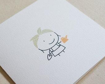 Gardener / Mother's Day Card