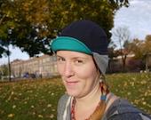 Pendelton wool earflap cycling cap.