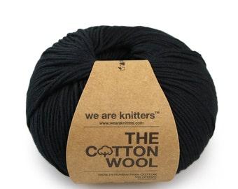 100% Pima Cotton - Black