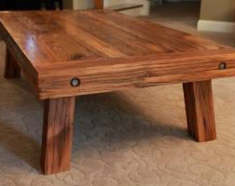 Hand Crafted Barnwood Coffee Table