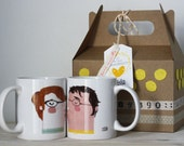 "Kit 2 cups custom ""enamorrados"""