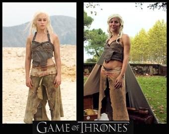 Daenerys dothraki costume