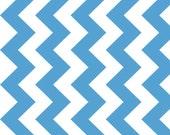Blue Medium Chevron by Riley Blake