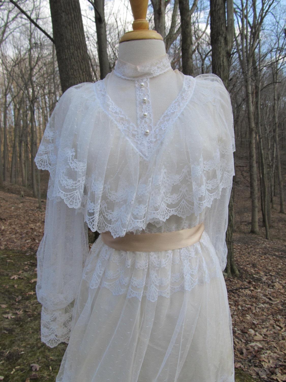 Sale Sale Victorian Lace Gown Dress