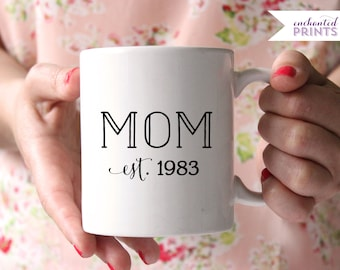 Personalized Mom Mug- Customized Mom Mug, Mothers Day Mug, Mothers Day Gift, Mom Gift, Mom Birthday, Gift for Her, New Mom Mug, New Mom Gift