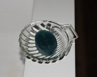 Pyrex Glass Dish - Scallop Shell Dish - Vintage Pyrex Serving Dish - Kitchenalia - Vintage Glass Soap Dish
