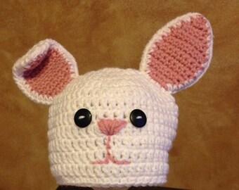 Crochet Easter Bunny Hat