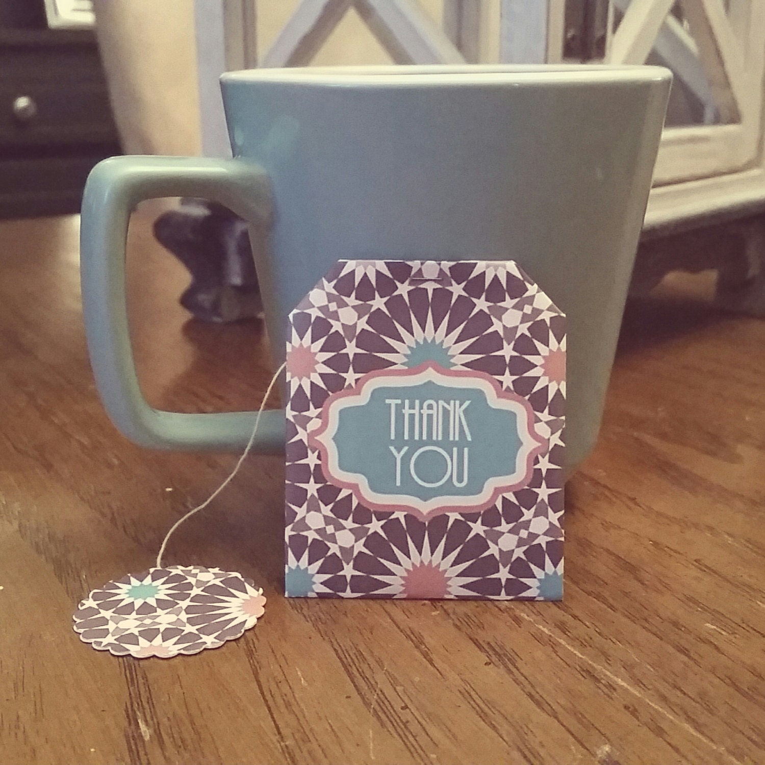 wedding bridal shower tea bag favors personalized by