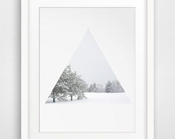 Wall Art, Winter Photography, White Decor, Snow Art, Snow Prints, White Wall Art, Snow Photography, Winter Art, Printable Art
