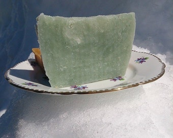 All Natural Tea Tree and Lime Handmade Soap