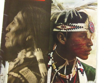 LIFE Magazine Our INDIAN HERITAGE July 1971-The Custer Myth-American Indian History in Beautiful Photos & Articles