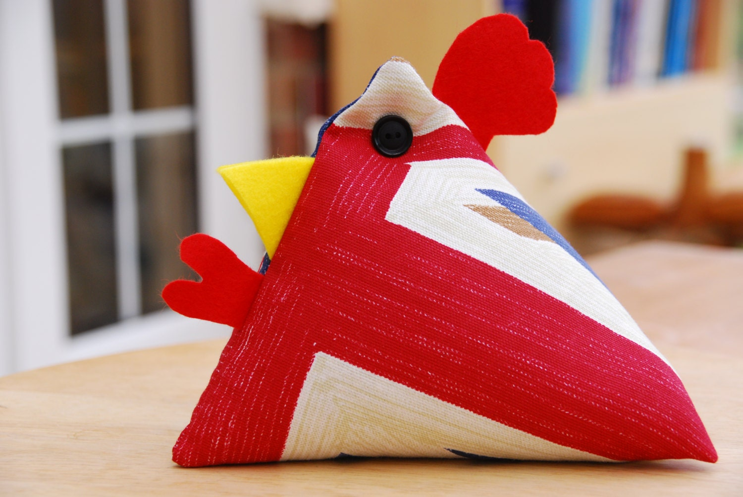 Chicken Door Stop Lizzy By Kiwiuk On Etsy