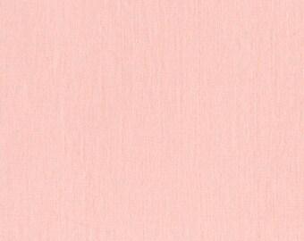 Cotton + Steel Bespoke- Peach DOUBLE GAUZE, 1/2 yard