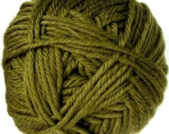 Fern Green  Knitca Superwash Merino Wool, Worsted Weight Wool, 100% Merino Wool