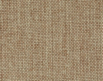 """58"""" Faux Burlap - Oatmeal by the Yard (Polyester)"""