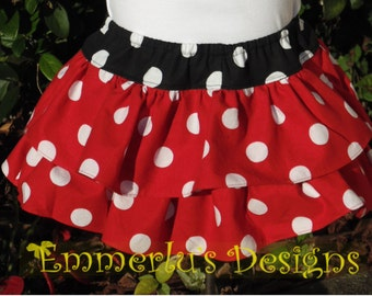 Double Ruffles All Around Bottom Diaper Cover/Bloomers