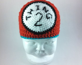 Thing 2 Beanie (in Red) - Infant to Child Sizes