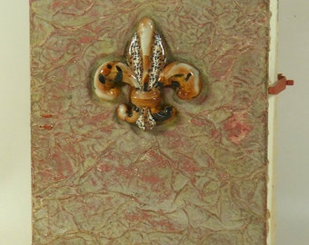 Wooden Cover Coptic-Bound Book    (178)