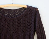 Sweet and Sheer Vintage Sweater *FREE SHIPPING*
