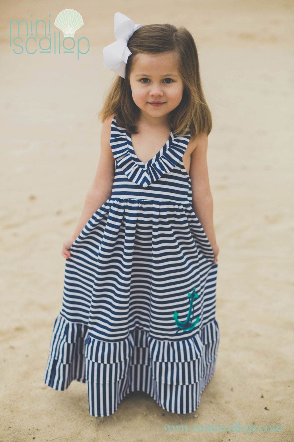 Toddler maxi dress - Etsy