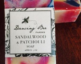 Sandalwood & Patchouli Soap