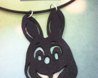 Robbie Rabbit leather necklace- Silent Hill
