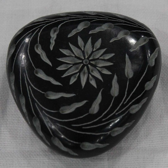 Paperweight hand carved soapstone art piece