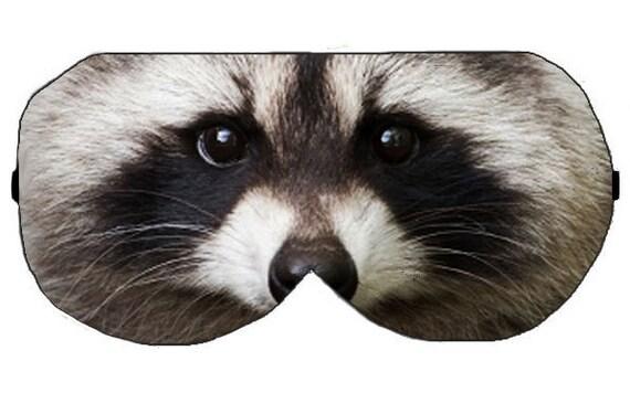 Raccoon Sleep Eye Mask Masks Sleeping mask masks Blindfold Raccoon Eye Mask