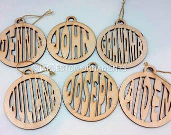 Personalized Christmas Ornament - Custom Name Ornament - Name Ornaments - Custom Ornament - Personalized Gifts - Customized Ornament